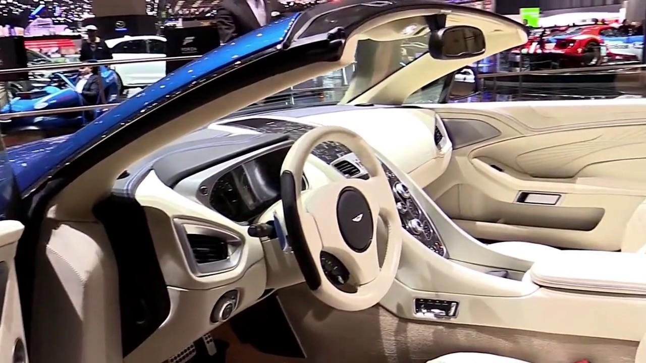 Aston Martin Vanquish S Volante Limited Luxury Features - 2018 aston martin vanquish convertible