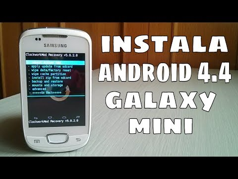 Instalar Android 4.4 en Galaxy Mini