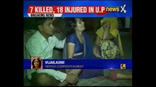 Seven killed as car rams into crowd in Deoria, Uttar Pradesh