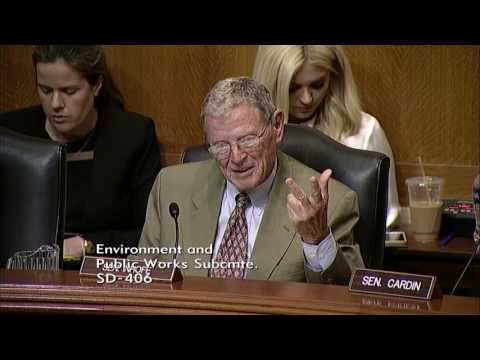 Inhofe Introduces OK Turnpike Director at EPW T&I Hearing