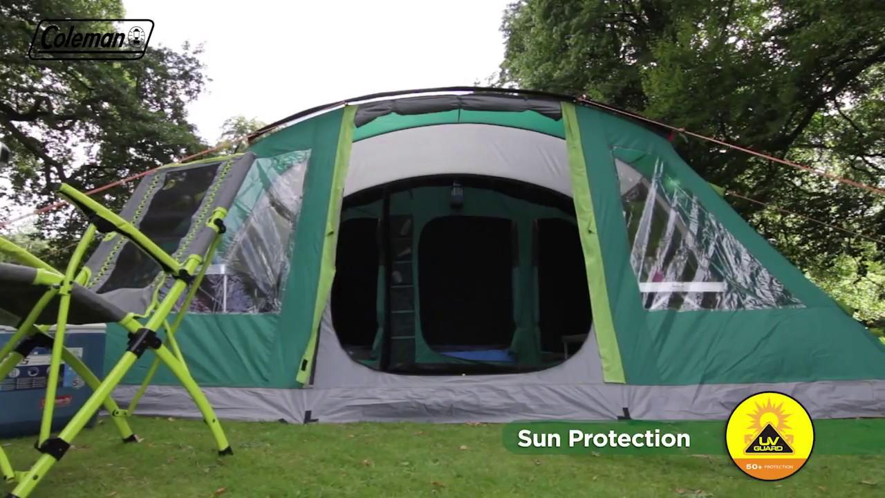 separation shoes e37b3 300ae Coleman® BlackOut Bedroom Oak Canyon 6 Family Camping Tent - EN