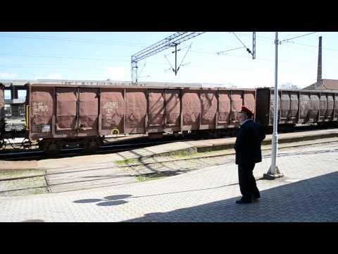 TRAIN THROUGH THE City of Leskovac