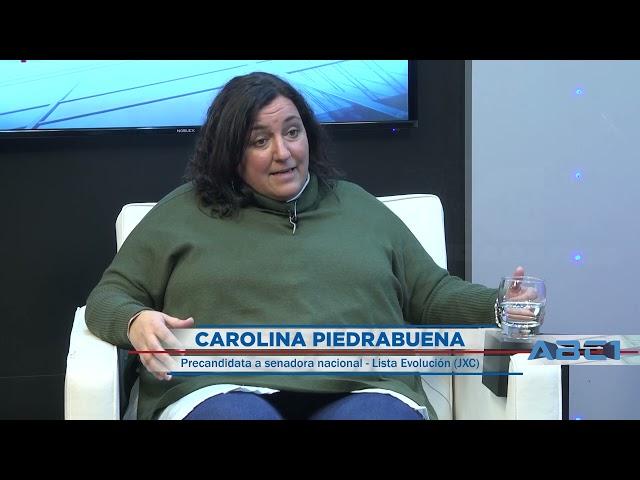 (Anticipo) Carolina Piedrabuena, precandidata a senadora nacional (JXC) sobre su propuesta electoral