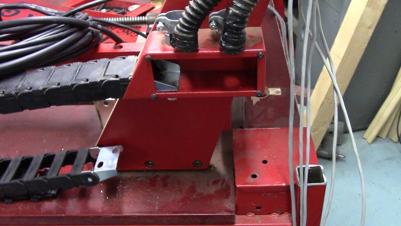 Phoenix CNC Router Upgrade: Centroid CNC Acorn DMM AC Servos  Part 2  Stripped/Clean Slate