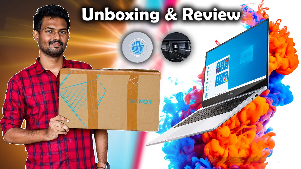 இதில் இவ்வளவு வசதி இருக்கா?💻 | Unboxing & Review : Honor MagicBook 15 | TechBoss