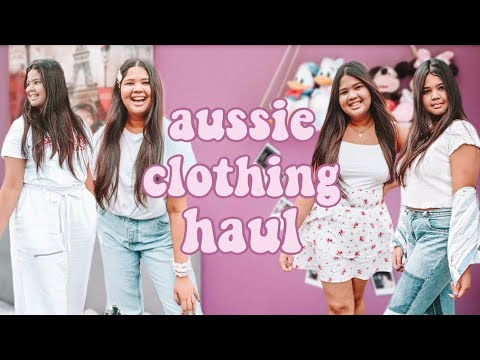 Australian Try-On Clothing Haul | Suprè, Sportsgirl, Valleygirl + More!