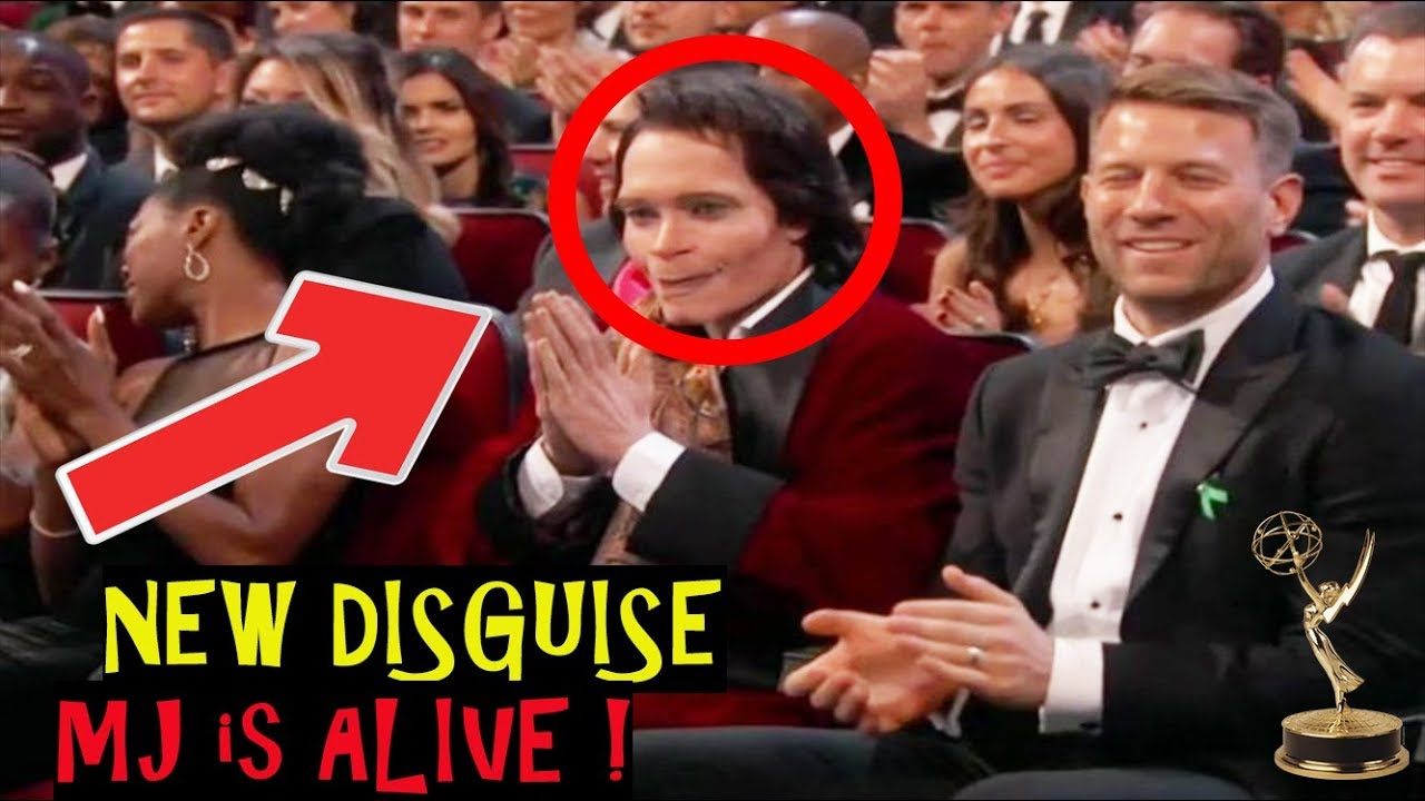 SHOCK! Michael Jackson SEEN ALIVE 2018 at Emmy Awards