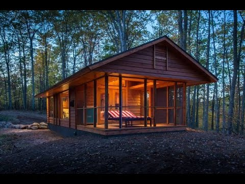 How a talented architect makes an RV look like a charming cabin in the woods
