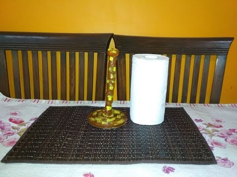 DIY: HOW TO MAKE TISSUE ROLL HOLDER AT HOME #ShivisCreations