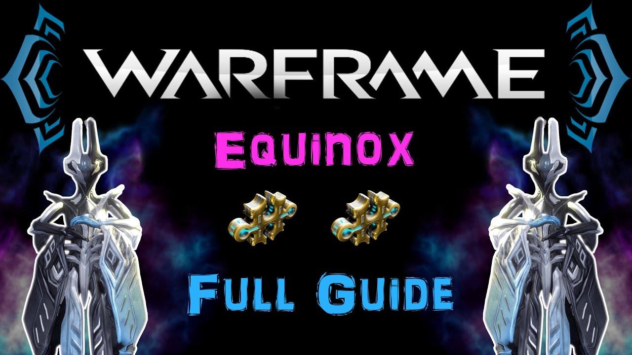 u19 5 warframe equinox build full guide 2 forma