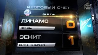 Highlights Dynamo Vs Zenit (0-1) | RPL 2014/15