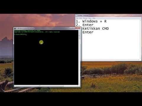 Cara Membuka Python Di Cmd