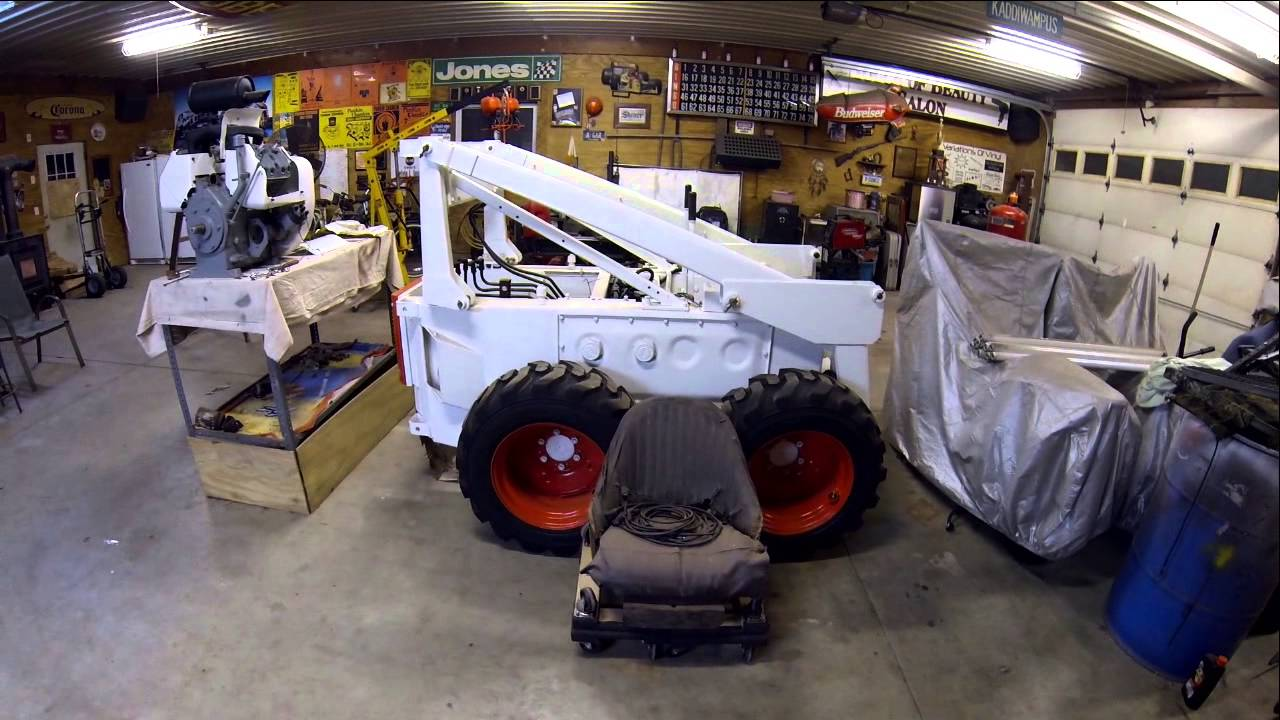 Working on the Bobcat M-610 Again