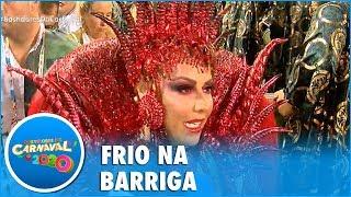 """Baixar Viviane Araújo admite ansiedade antes de desfile: """"Cada ano é uma emoção diferente"""""""
