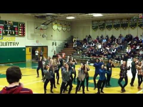 Langley High School Dance Team - Thrift Shop 1/18/2013