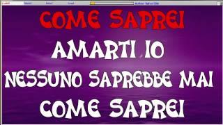 Come Saprei Karaoke