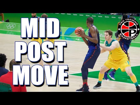 Mid Post Move: Rip Spin | Dominate the Low Post | Pro Training Basketball