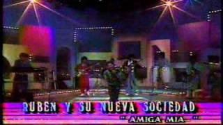 Rubén y su Nueva Sociedad en vivo Amiga Mía.wmv