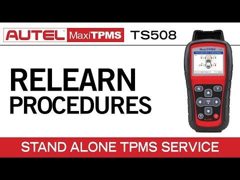 Autel MaxiTPMS TS508 — TPMS Relearn Function