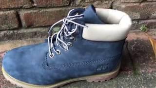Обзор ботинок Timberland (осень-зима 2016) Blue