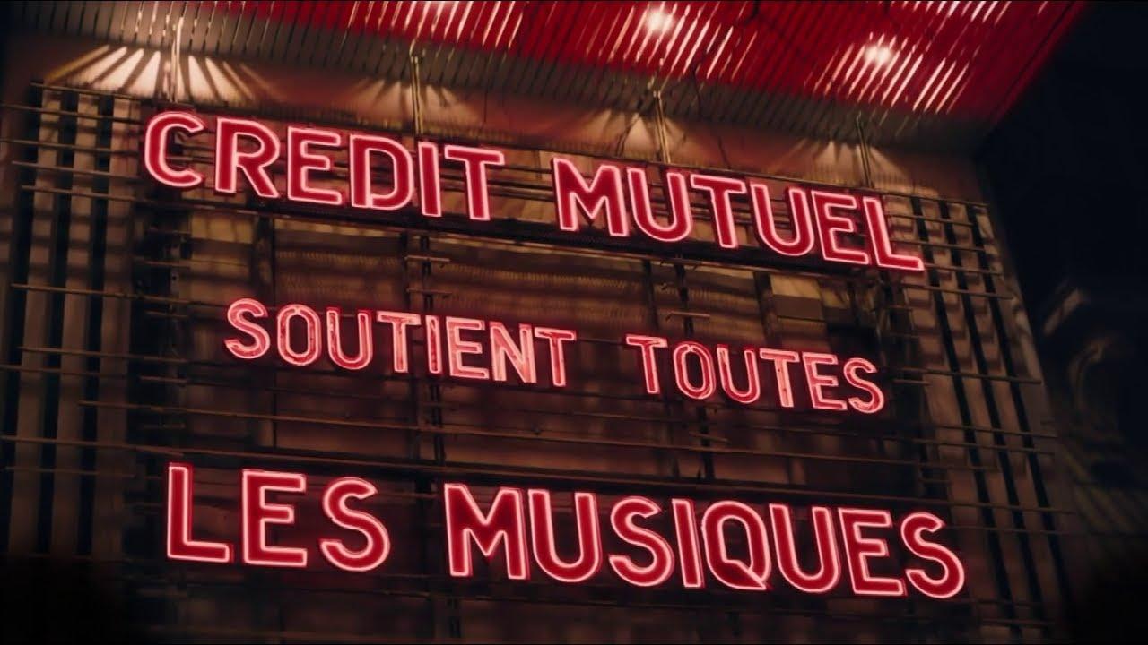 """Musique de la pub Crédit Mutuel """"soutient toutes les musiques""""  2021"""