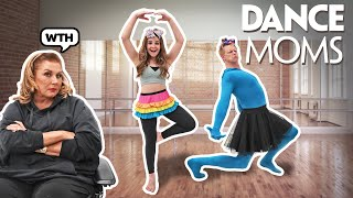DANCE MOMS IN REAL LIFE Challenge With Jordan Matter **ABBY LEE GOT MAD**🤬💃| Piper Rockelle