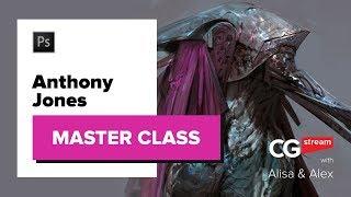 Anthony Jones aka Robotpencil MASTER CLASS. CG Stream.