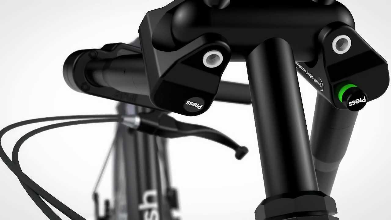 Bigfish Folding Bike Smart Folding Technology Youtube