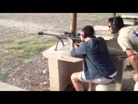 50.cal Sniper Rifle - Texas Shooting Range