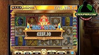 Cleopatra Mega Progressive Jackpot Online Slots vs £300 Real Money Play Mr Green Online Casino