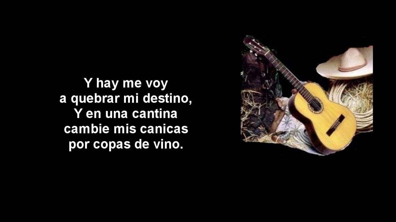 Las Botas De Charro Vicente Fernandez Letra Youtube