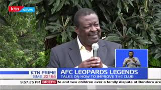 Musalia Mudavadi pledges to support AFC Leopards management
