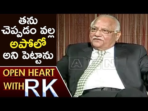 Prathap C Reddy Opens Up On Naming Hospital As Apollo   Open Heart With RK   ABN Telugu
