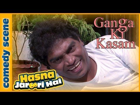Johnny Lever Best Comedy Scene - Hasna Zaroori Hai - Ganga Ki Kasam - Indian Comedy