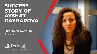 Success Story of Ayshat Gaydarova - QLTS School's Former Candidate