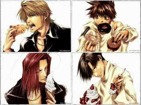 Saiyuki - Open Up Your Mind