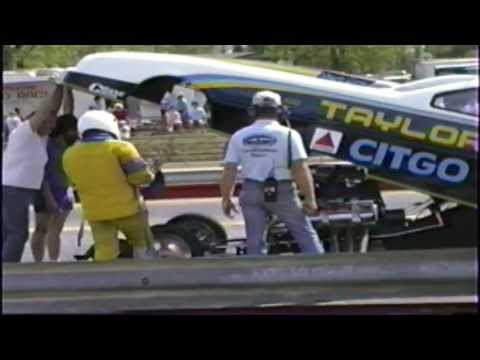 Throttle hangs open on Top Alcohol Funny Car