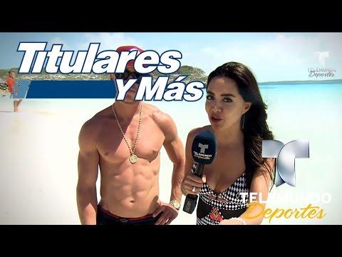 Leti nos muestra la exótica Exuma | Titulares y Más | Telemundo Deportes