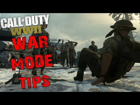 Call of Duty WW2 WAR mode Tips and Tricks