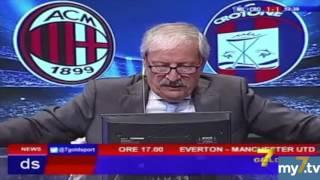 DirettaStadio 7Gold Milan Crotone 2-1 Crudeli: ce l