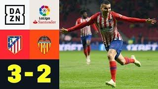 Angel Correas Traumtor vertagt Barcas Titel-Party: Atletico Madrid - Valencia 3:2 | La Liga | DAZN