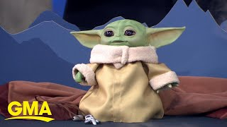 First look at the brand-new Baby Yoda toys l GMA