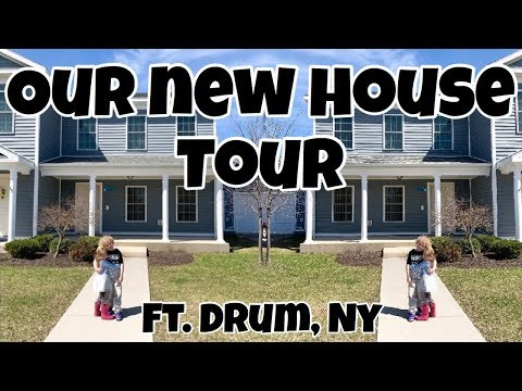 OUR NEW HOUSE TOUR - FORT DRUM, NY | Marie Roberts