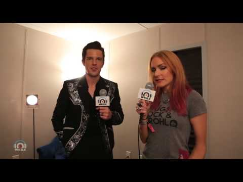 Brandon Flowers of The Killers Interview at Lollapalooza 8/4/2017