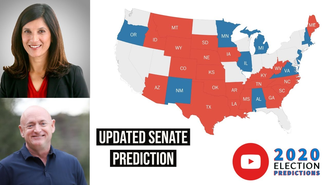 *NEW* SENATE PREDICTIONS