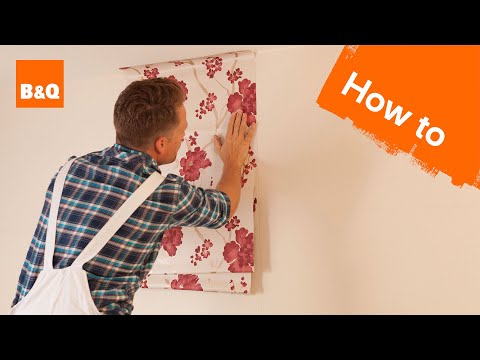 How to hang wallpaper part 2: hanging