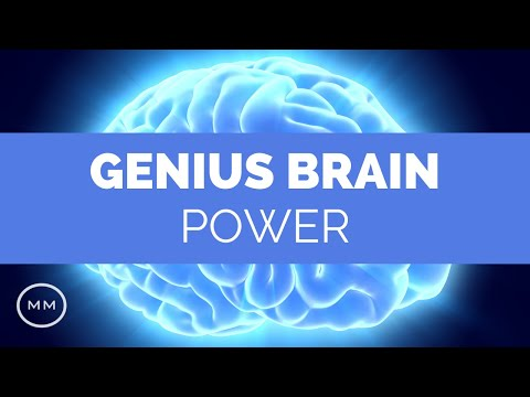 Genius Brain Power - Super Conscious Connection - Focus Music - Binaural Beats