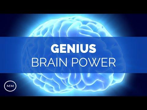 Genius Brain Power - Focus Music - Super Conscious Connection - Binaural Beats