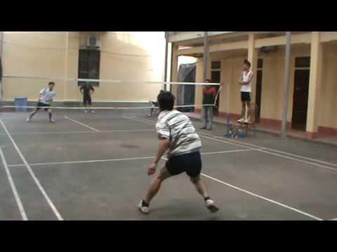 Cầu lông pro Cẩm Khê: Dũng VS Vụ 2013(p1)