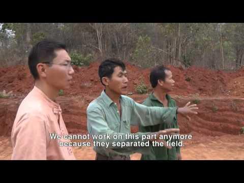 Farmers along Shwe Gas Pipeline
